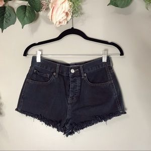 Brandy Melville | high waisted button fly shorts